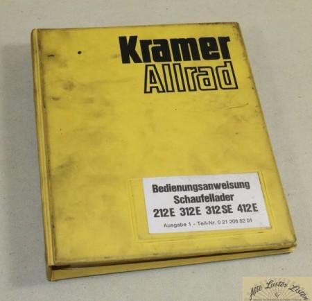KRAMER Radlader 212, 312, 412 E