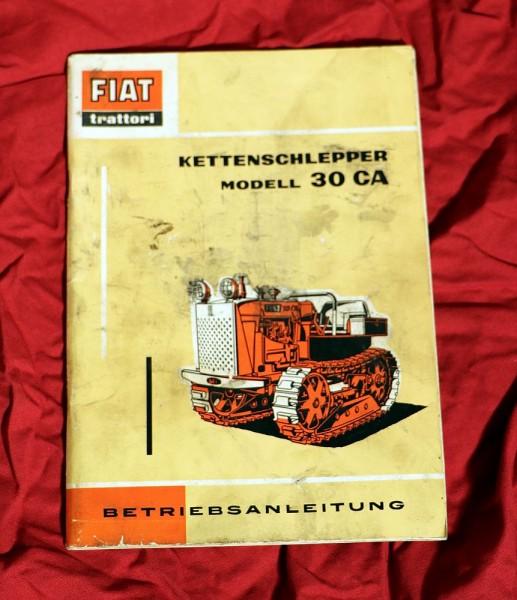 FIAT Raupe 30 CA Anleitung