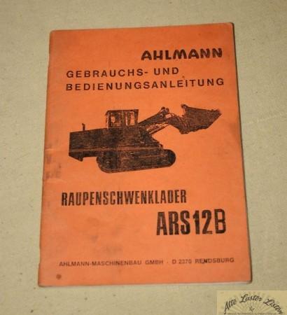 Ahlmann Raupen Schwenklader ARS 12 B