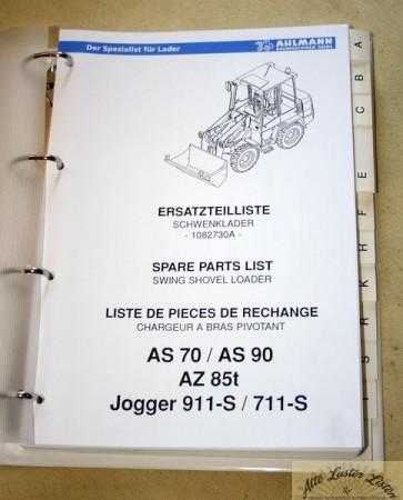 Ahlmann Schwenklader AS 70 , AS 90 , AZ 85t