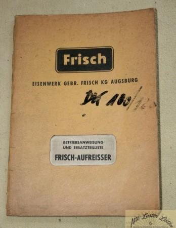 FRISCH Aufreisser D 100 s3, s5