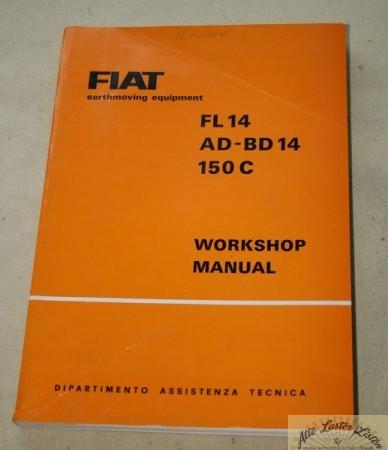 FIAT Raupen FL 14 , AD 14 , BD 14