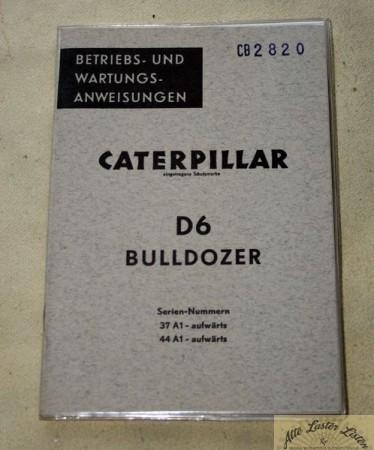 CATERPILLAR D 6 Raupe
