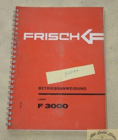 FRISCH Lader F 3000