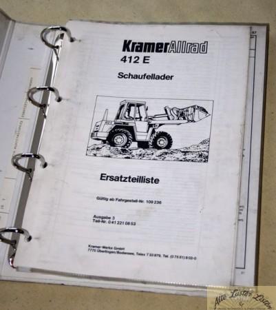 KRAMER Allrad 412 E Radlader
