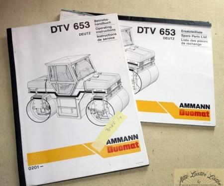 AMMANN Walze DTV 653 , Deutz