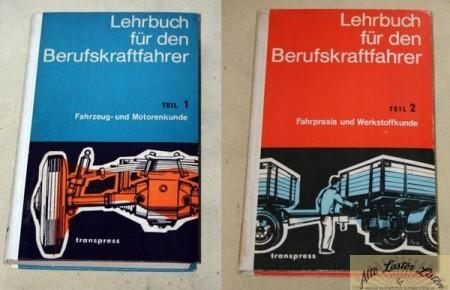 Lehrbuch für Berufskraftfahrer, Band 1 + 2 , transpress