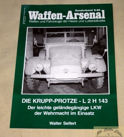 KRUPP Protze L 2 H 143 Waffen Arsenal Band S-66