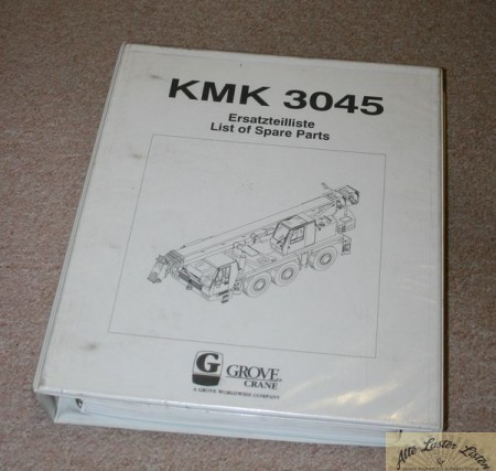 Autokran KRUPP , Grove KMK 3045