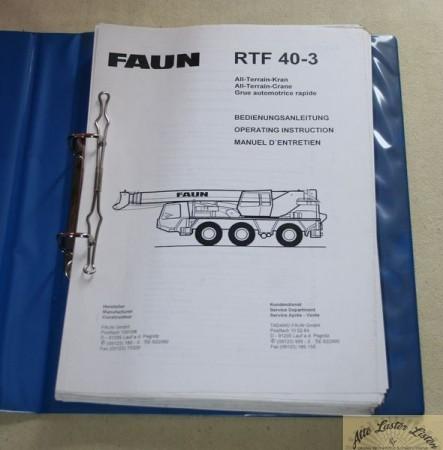 FAUN Kranwagen RTF 40 - 3