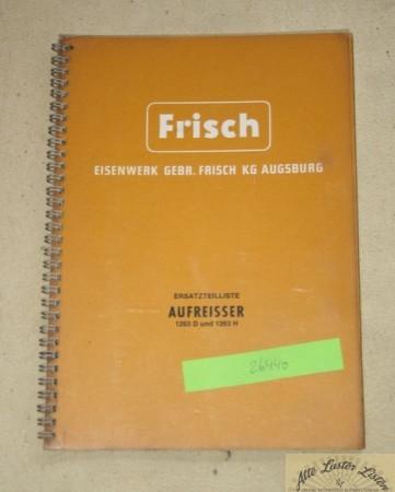 FRISCH Aufreisser 1263 D + H