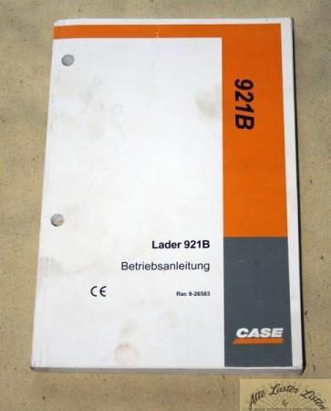 CASE 921 B , Radlader