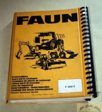 FAUN Radlader F 2000 C