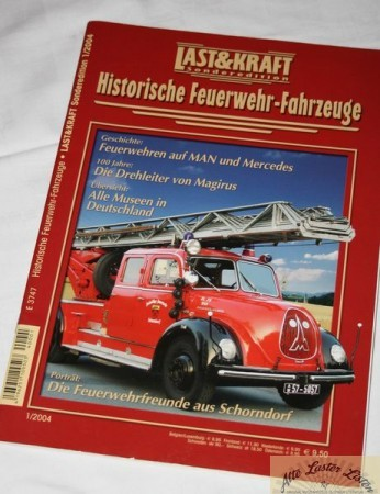 Last + Kraft Sonderheft Feuerwehr Fahrzeuge