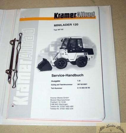 KRAMER Mini Lader 120 Radlader Service Handbuch
