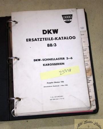DKW Schnellaster Typ 3=6 , Karosserien