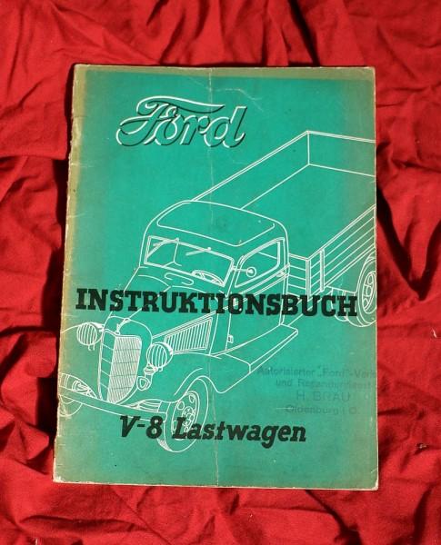 Ford V8 Lastwagen Handbuch