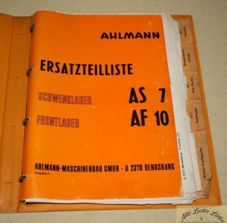 Ahlmann Schwenklader AS 7 , Frontlader AF 10