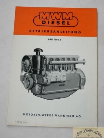 MWM Motor AKD 1105 S