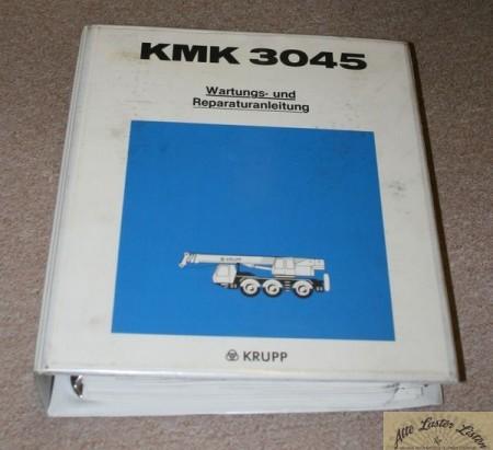 Werkstatthandbuch Mobilkran KRUPP KMK 3045