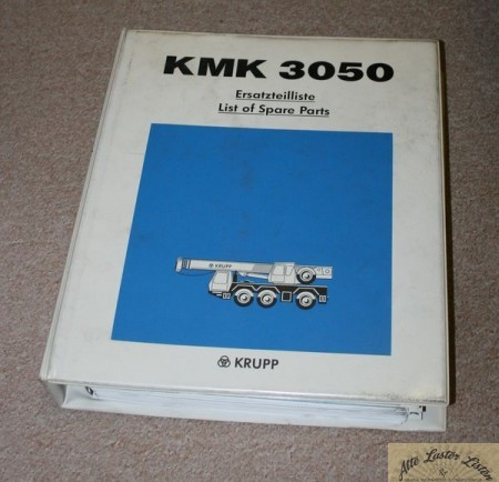 Autokran Mobilkran KRUPP KMK 3050