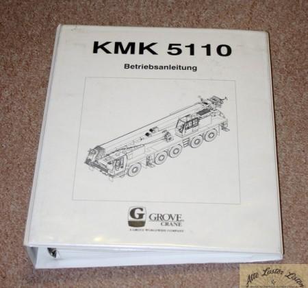 Autokran GROVE , KRUPP KMK 5110
