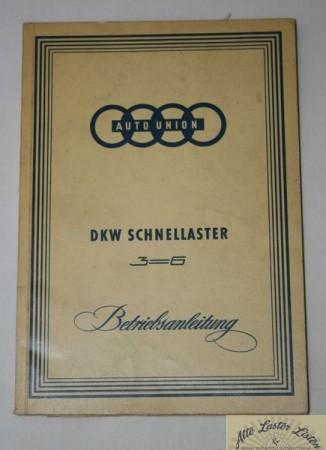 DKW Schnellaster Typ 3=6