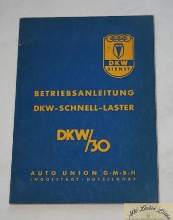 DKW Schnellaster Typ 30