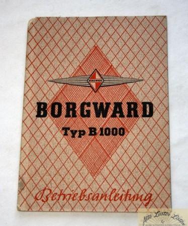 Borgward B 1000 , 1 Tonner Lieferwagen