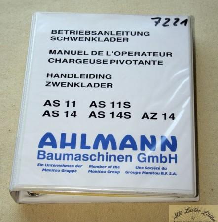 Ahlmann Schwenklader AS 11, 14 , S , AZ 14