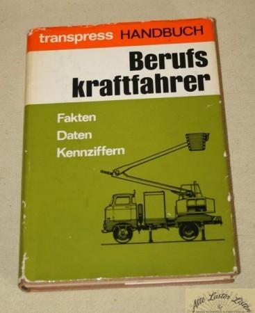 Handbuch Berufskraftfahrer , Transpress VEB
