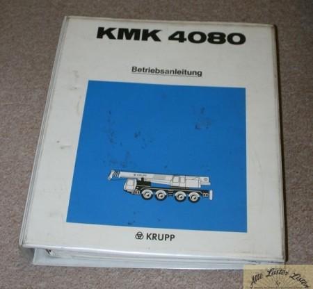Autokran KRUPP KMK 4080
