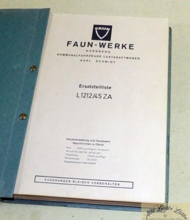 FAUN L 1212 / 45 ZA Hauber Zugmaschine