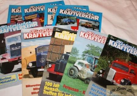 Zeitschriften HiK , Historischer Kraftverkehr