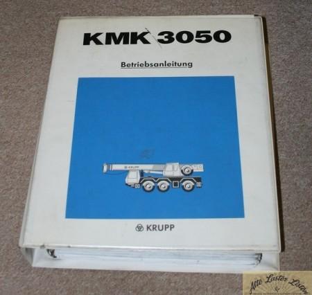 Autokran KRUPP KMK 3050