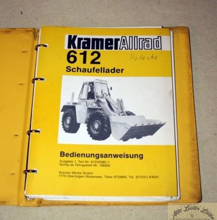 KRAMER Allrad 612 Radlader