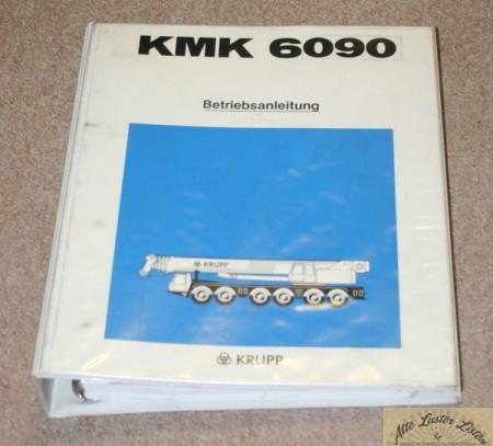 Autokran KRUPP KMK 6090