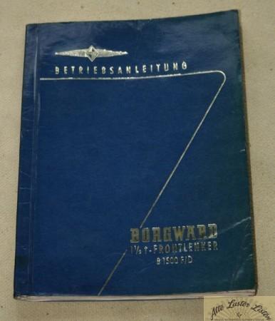 Borgward B 1500 F , D
