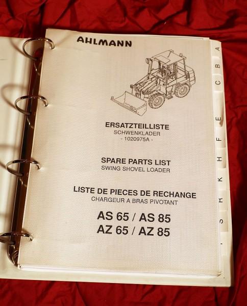 Ahlmann Schwenklader AS 65 , AZ 85