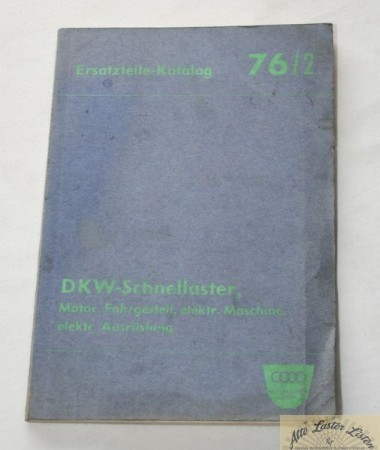 DKW Schnellaster F 89