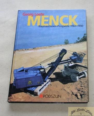 MENCK , Baumaschinen Prospekte 1960-90