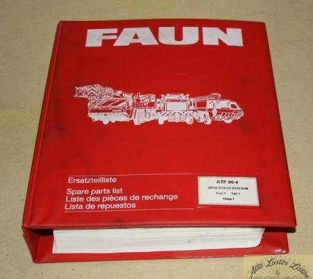 FAUN Kranwagen ATF 90 - 4