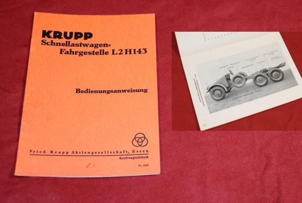 Krupp Protze L 2 H 143 + Motor M 304