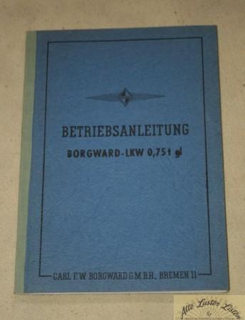 Borgward 0,75 t gl , B 2000