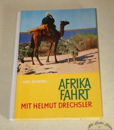 Afrika Fahrt , mit Helmut Drechsler , mit IFA Garant Allrad