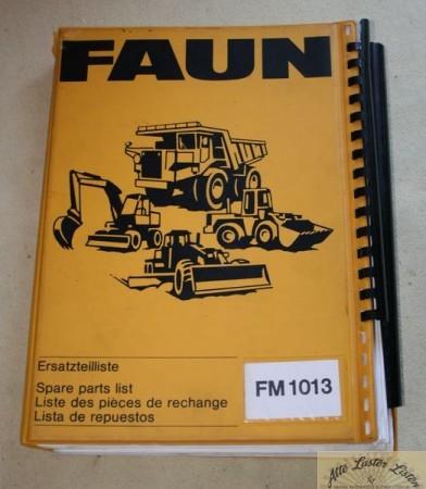 FAUN Bagger FM 1013