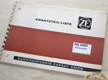 Zettelmeyer ZF Planetenlenkachse ZF PLA - 10007
