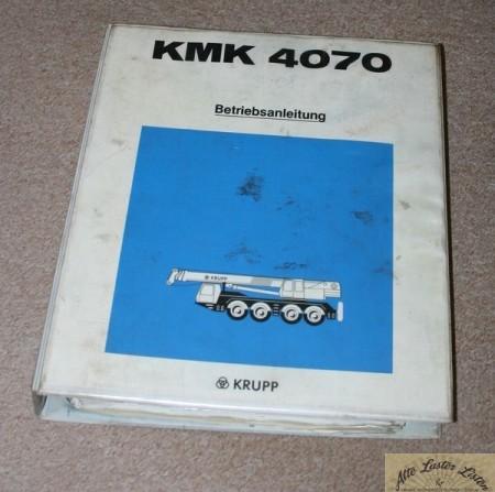 Autokran KRUPP KMK 4070