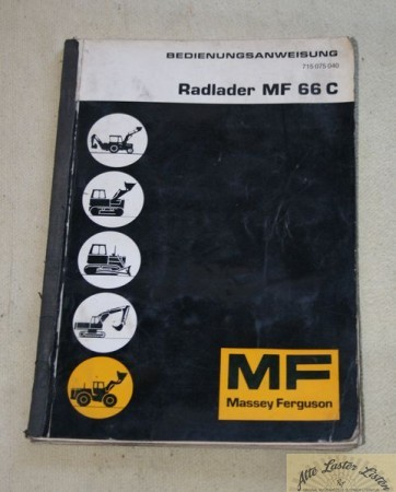 Hanomag B 18 c ( MF 66 c ) Radlader