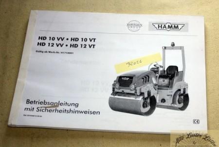 HAMM Walze HD 10 , 12 VV, VT
